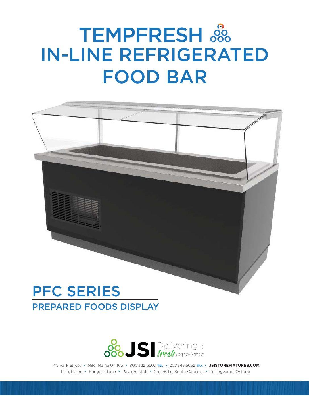 TempFresh Refrigerated Inline Spec Sheet