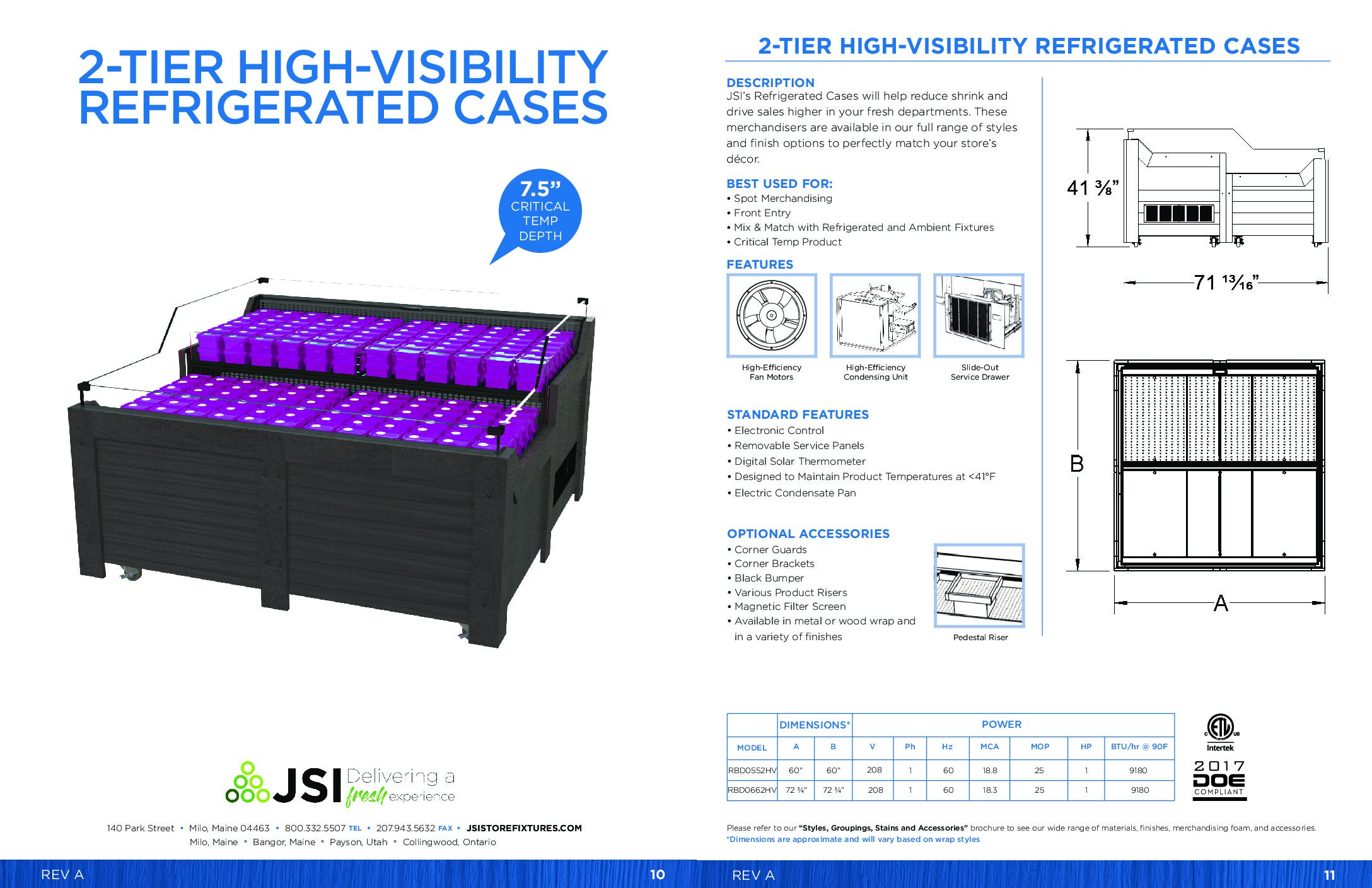 2-Tier High-Visibility Refrigerated Cases (PDF)