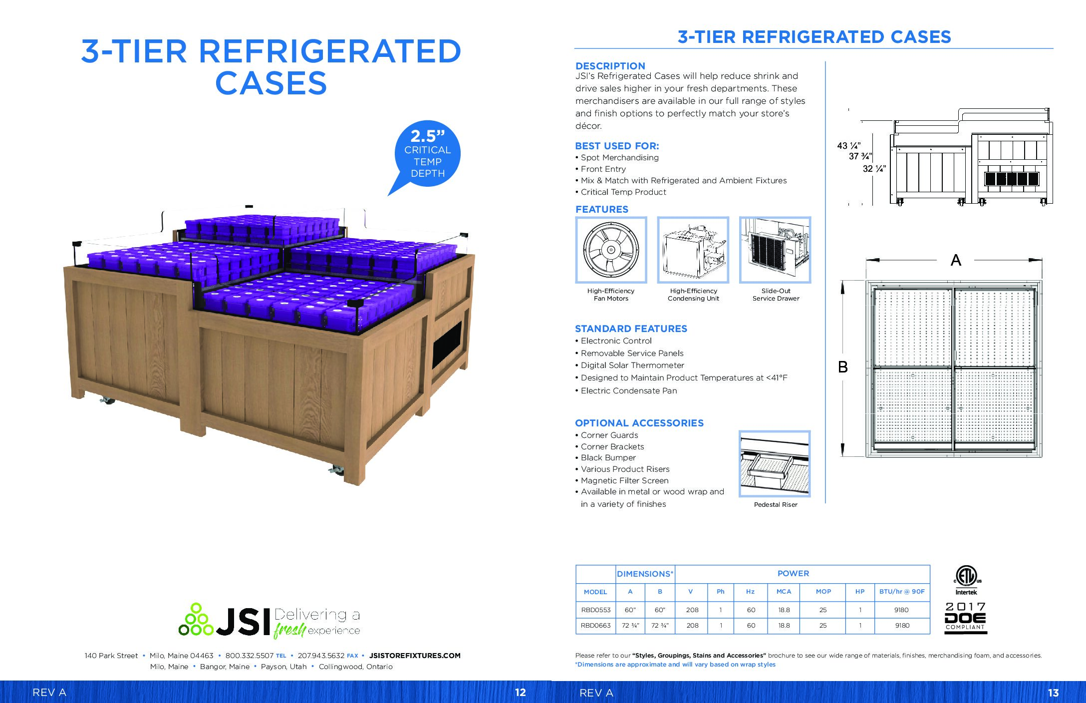 3-Tier Refrigerated Cases (PDF)