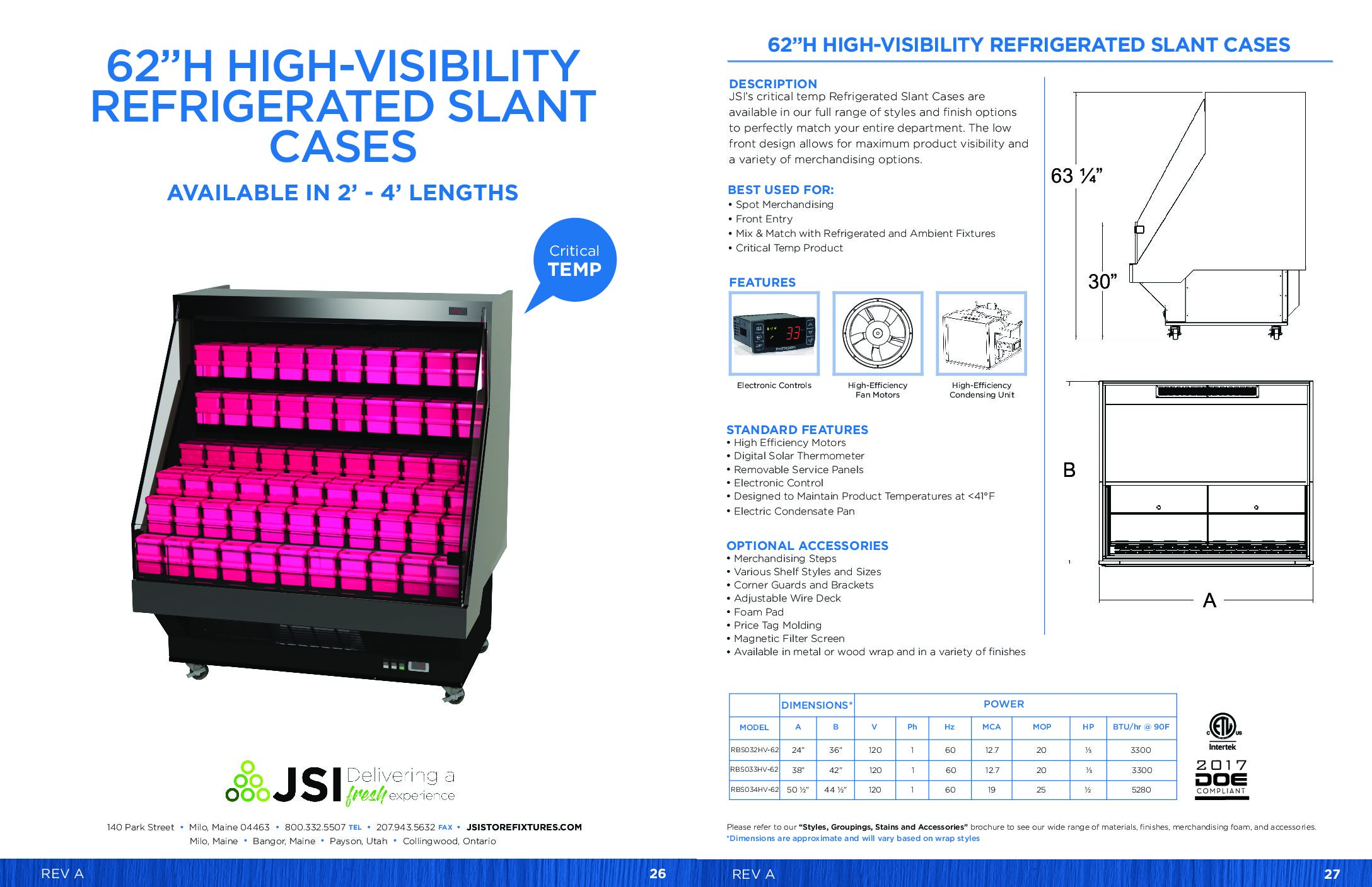 62in High-Visibility Refrigerated Slant Cases 2ft-4ft (PDF)