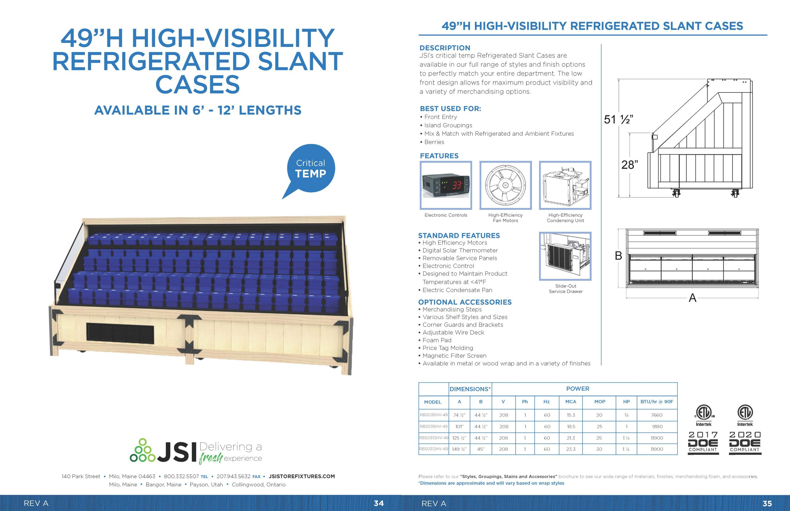 49in High-Visibility Refrigerated Slant Cases_6ft-12ft