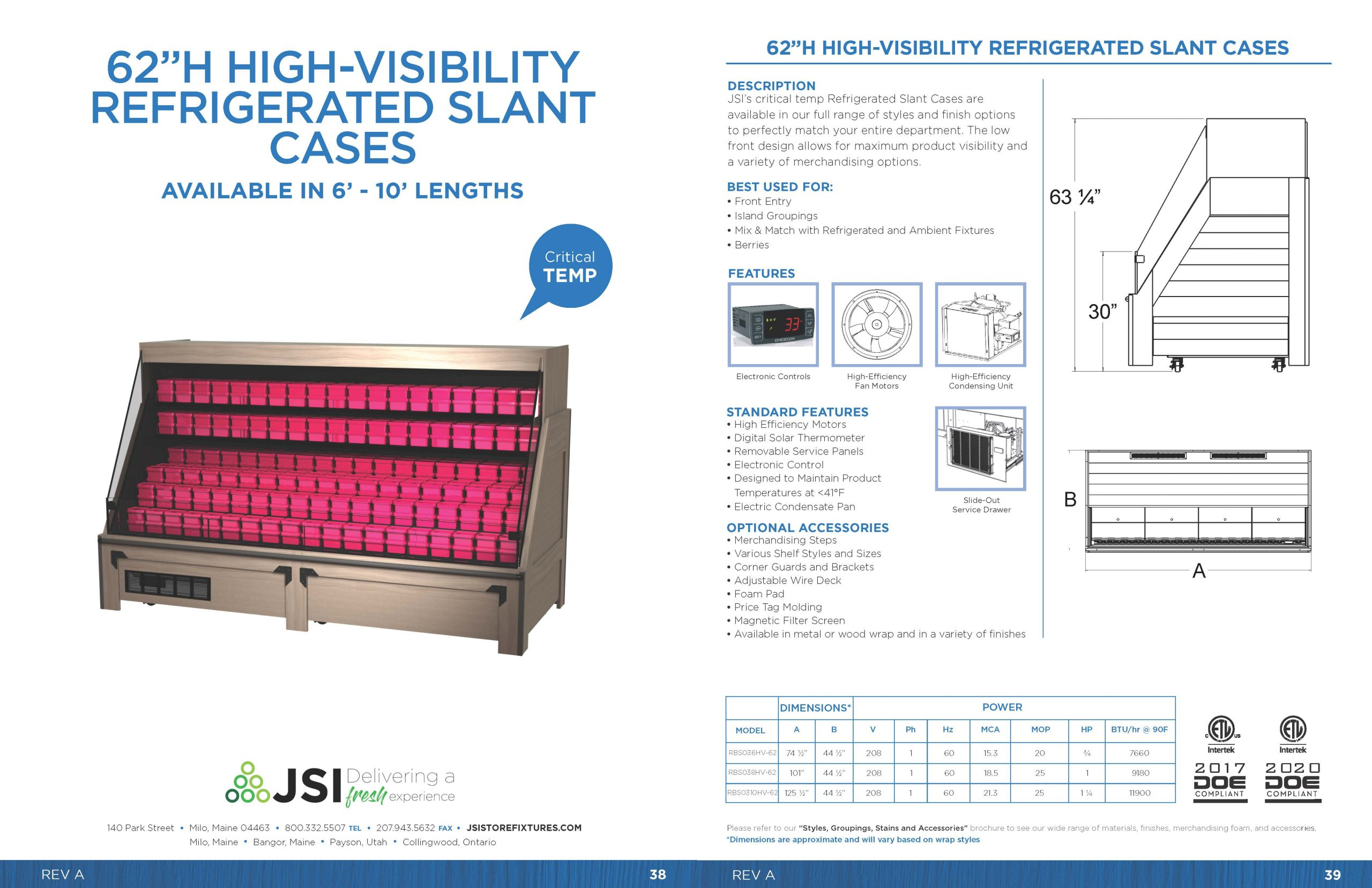 62in High-Visibility Refrigerated Slant Cases_6ft-10ft