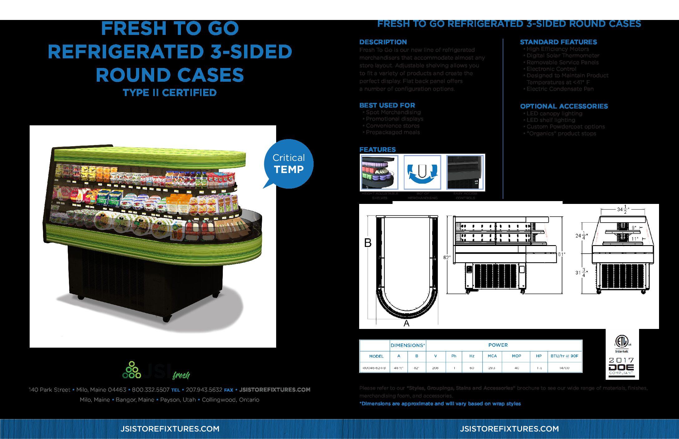 Fresh To Go 3 Sided Case Round Spec Sheet (PDF)